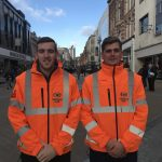 Street Marshalls in Leeds City Centre for Christmas